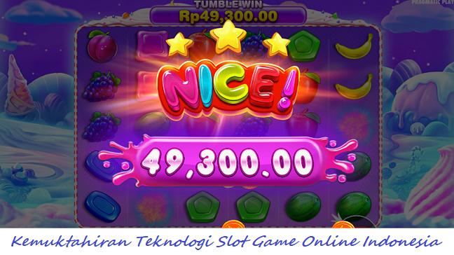 Kemuktahiran Teknologi Slot Game Online Indonesia